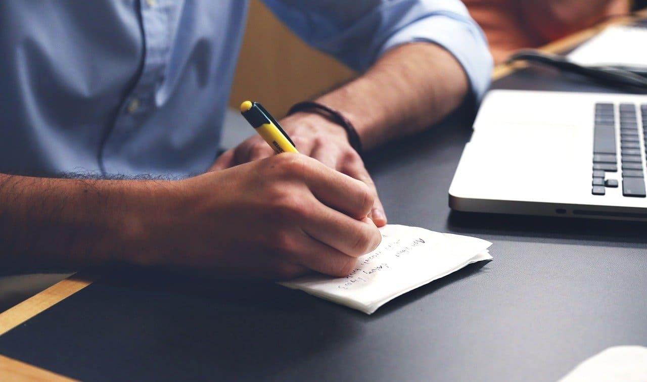 ペンの使用頻度