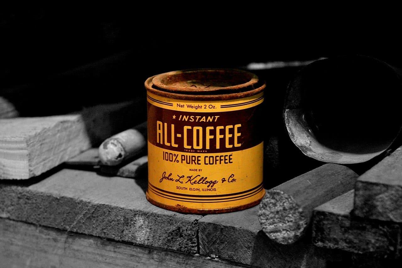 缶コーヒーを飲もう!