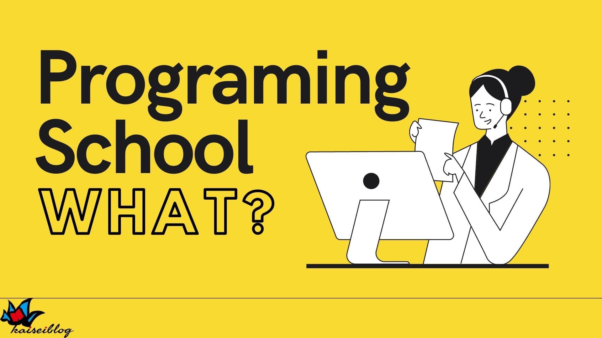 プログラミングスクール とは